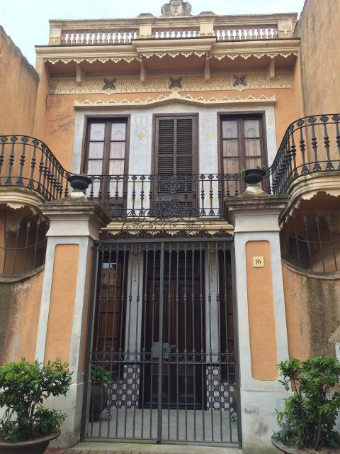 The colonial homes in Begur, Costa Brava