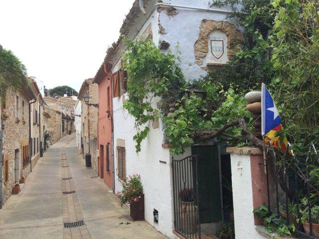 Beautiful streets in Begur, Costa Brava