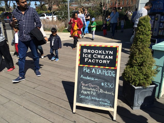 special flavors at brooklyn ice cream factory