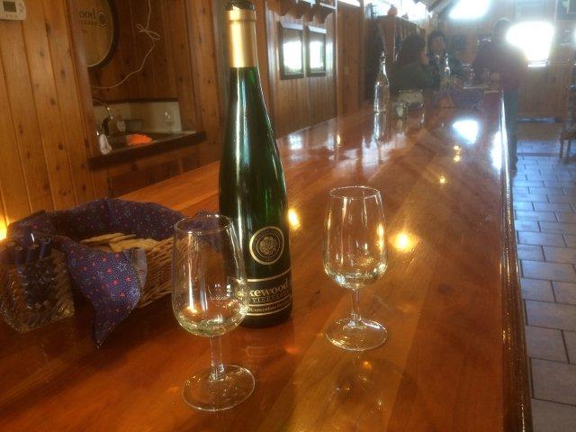 Wine tasting at Lakewood Vineyards Finger Lakes New York