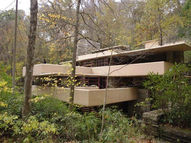 Fallingwater beginning of tour