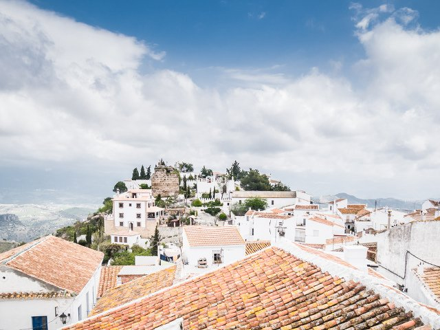 Comares is the highest town in the Axarquia a getaway from Málaga