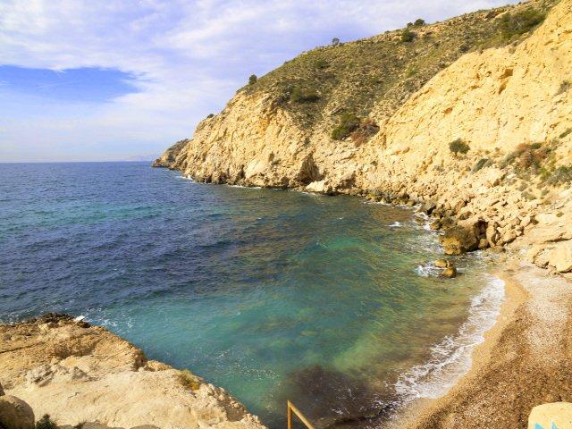 Costa Blanca Beach of Villajoyosa
