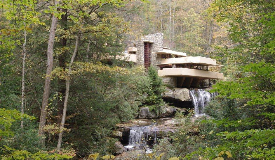 Fallingwater, A Family Home Designed by Frank Lloyd Wright