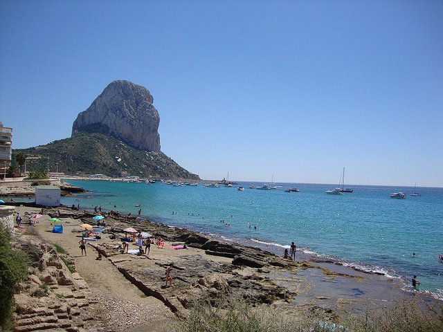 The Rock of Ifach on the Costa Blanca