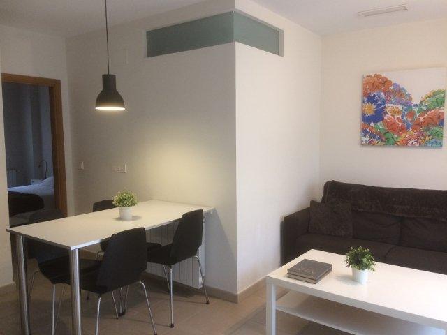 Salon comedor del apartamento Muchosol en Valencia