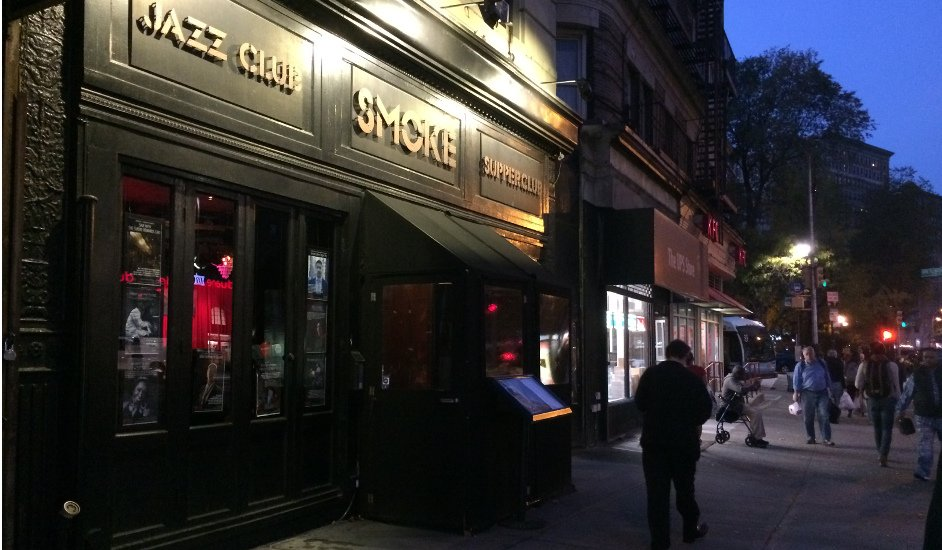 Smoke Jazz; Authentic Jazz and Dinner in a Cozy Manhattan Bar