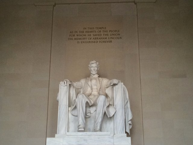Memorial a Lincoln en Washington DC