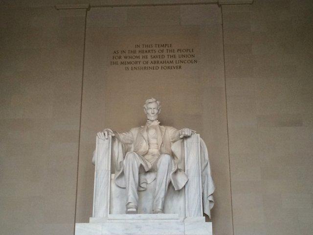 Memorial a Lincoln en Washington DC