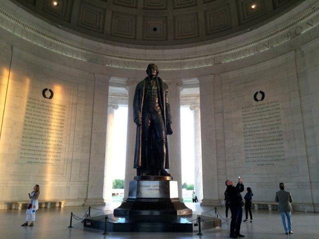 Memorial a Jefferson en Washington DC