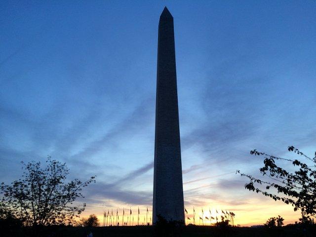 Monumento a Washington en Washington DC