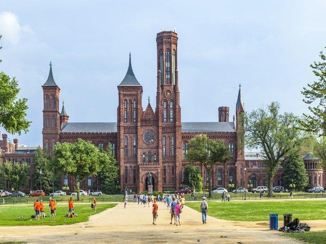 Castillo Smithsonian en Washington DC