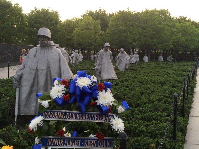 Memorial a los veteranos de la Guerra de Corea en Washington DC