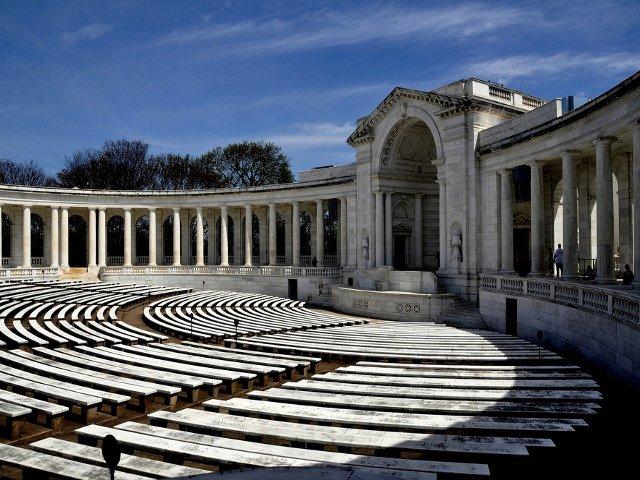 Anfiteatro del Cementerio de Arlington en Washington DC