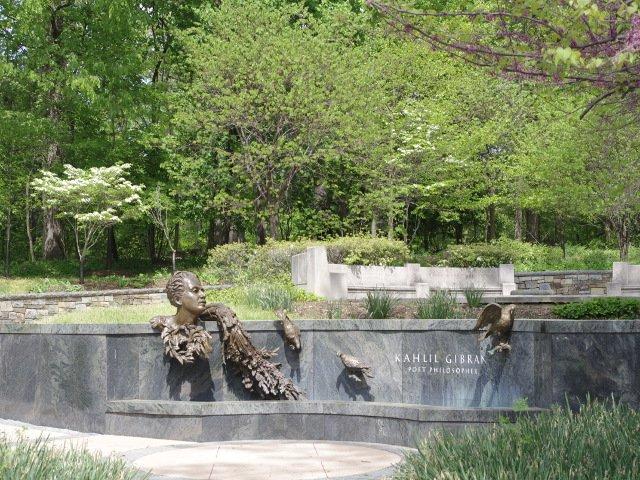 Memorial a Khalil Gibran en Washington DC
