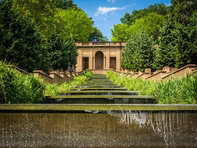 Parque Meridian Hill en Washington DC