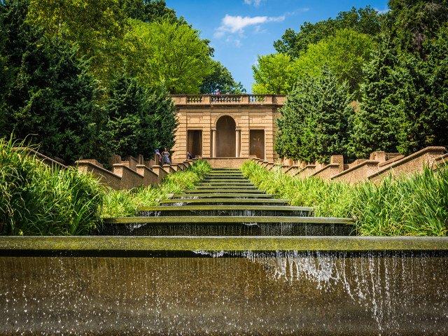 Parque Meridian Hill en Washington DC