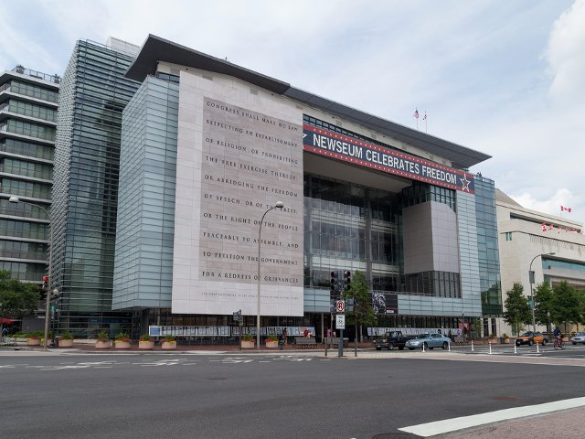 Newseum en Washington DC