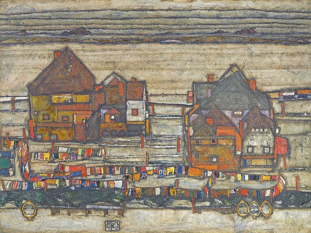 Painting by Egon Schiele Neue Galerie New York