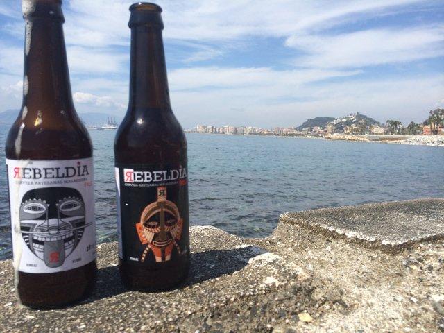 Cerveza artesanal en Málaga en los Baños del Carmen