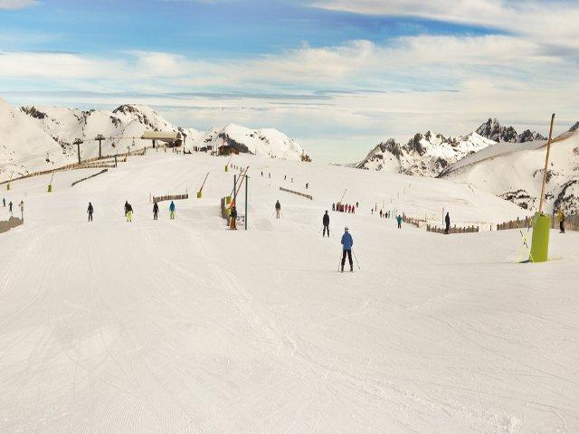 Deportes de nieve son populares en Andorra