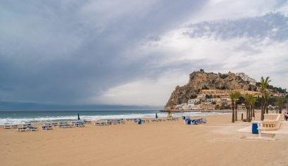 Playa del poniente Benidorm