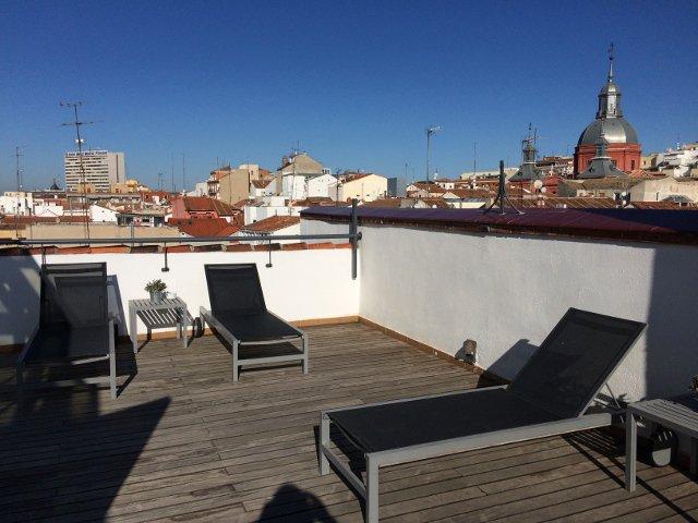 Azotea de Eric Vökel Madrid Suites