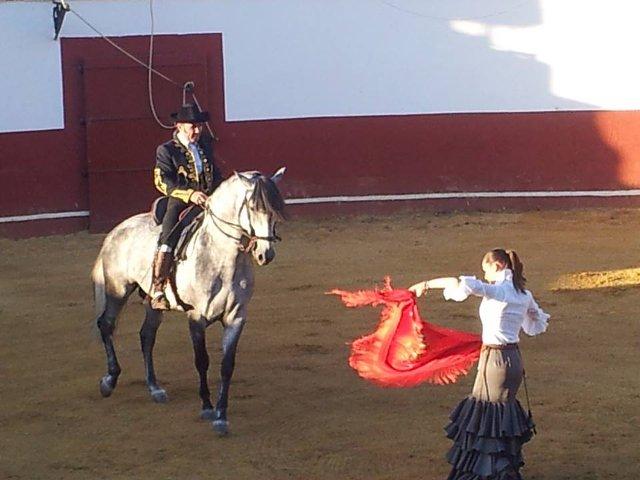 Espectáculo flamenco con caballos en Córdoba