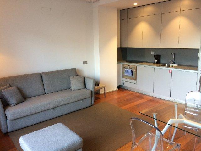 Interior y salón en Eric Vökel Madrid Suites