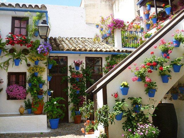 Los Patios con flores no te los puedes perder en Córdoba