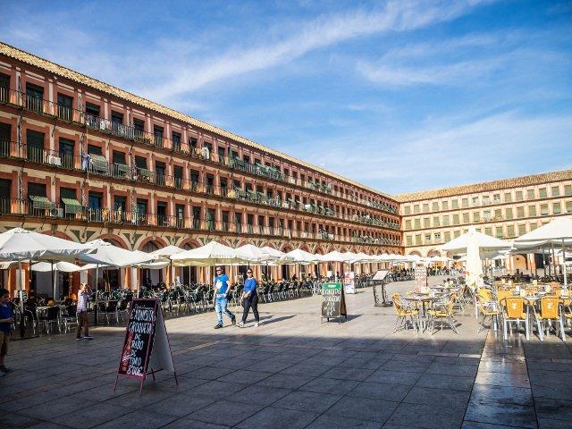 Plaza de la Corradera en Córdoba