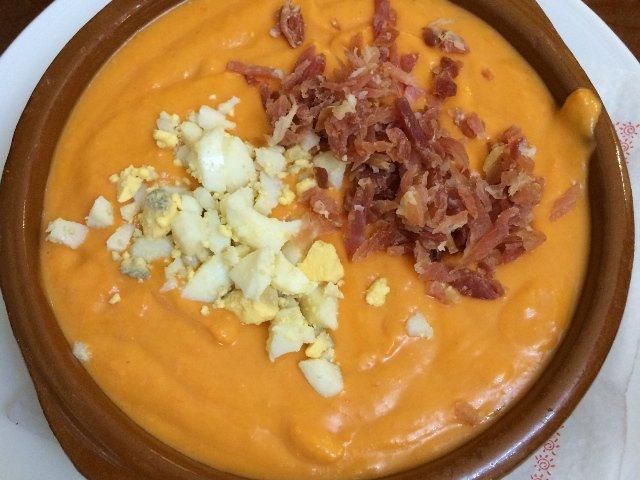El Salmorejo es uno de los platos típicos de Córdoba
