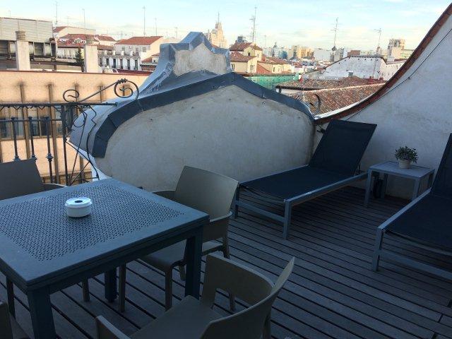 Terraza balcon de Eric Vökel Madrid Suites