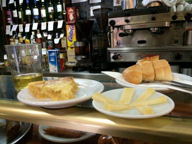 Bar Cerveriz es un lugar para quedar con los amigos en Madrid