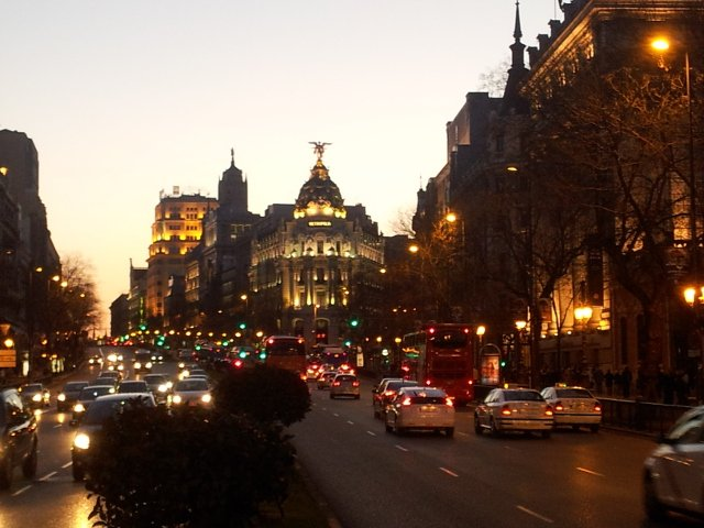 There are lots of places to meet friends in Madrid