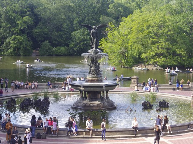 La fuente Bethesda en Central Park