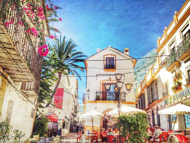 Old Town Marbella is a gorgeous place on the Costa del Sol