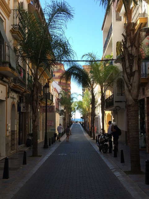 The Costa del Sol has beautiful streets