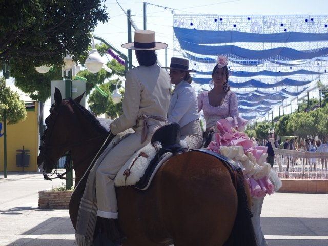 You cant miss the festivals and fairs on the Costa del Sol