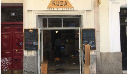 Entrada de Ruda Café Madrid