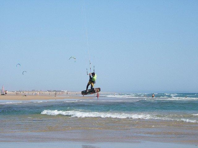 Kitesurf en Conil de la Frontera