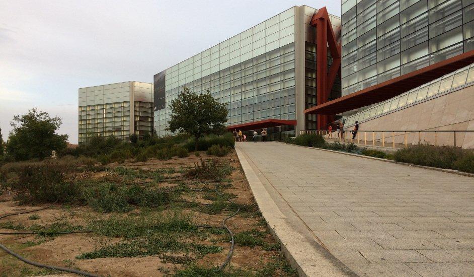 Exterior Museum of Human Evolution in Burgos
