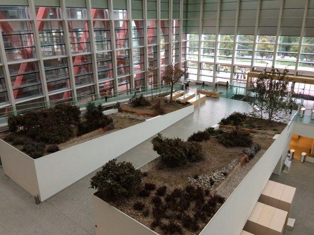Interior Museum of Human Evolution in Burgos