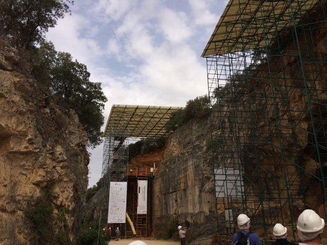 La Trinchera en el Yacimiento de Atapuerca