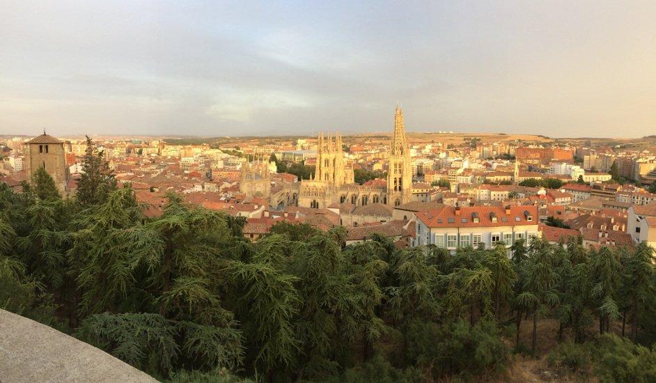 Vistas desde el Castillo Burgos