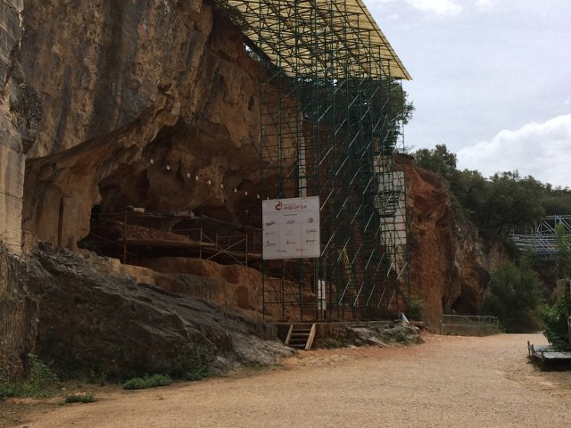 Yacimiento de Atapuerca Burgos