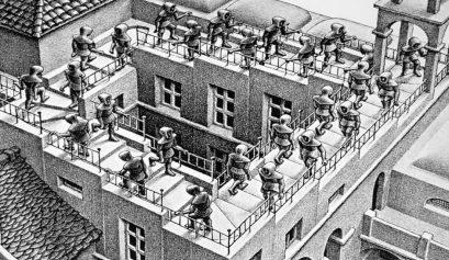 La escalera imposible de Escher