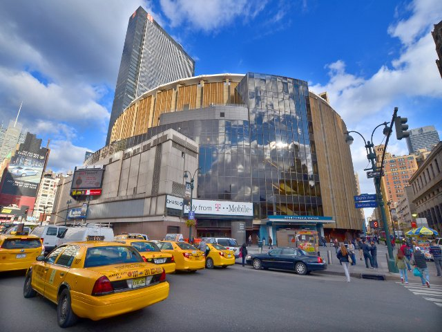 El Madison Square Garden en Nueva York