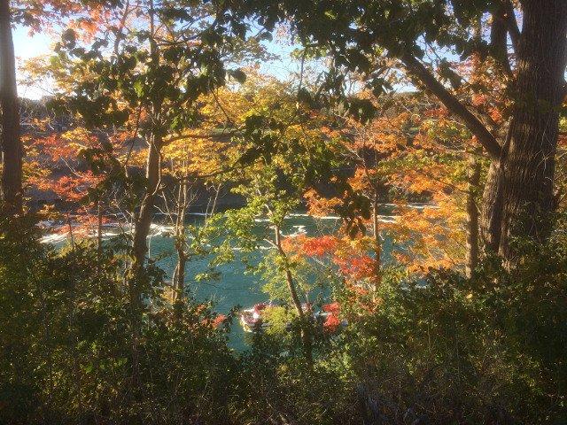 Parque estatal de Niágara en el lado de Nueva York