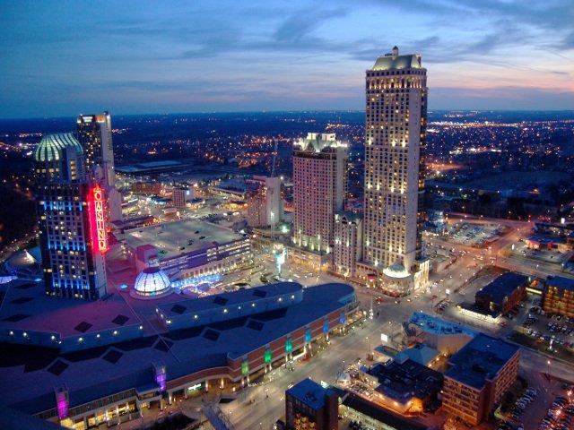 Casino de Niágara en el lado de Ontario